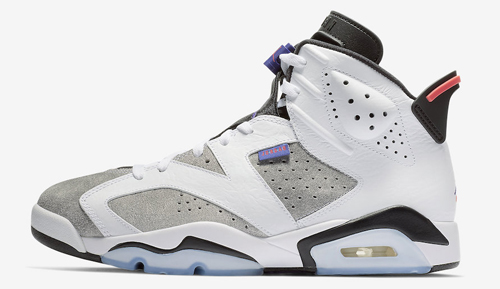 033200741040 Air Jordan 6 LTR Color  White Black-Infrared 23-Dark Concord Style Code   CI3125-100. Release Date  January 12