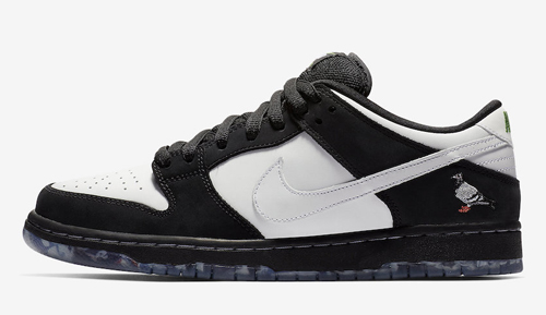 "quality design 27956 7ab22 Nike SB Dunk Low ""Panda Pigeon"" Color  Black Green Gusto-White Style Code   BV1310-013. Release Date  January 15, 2019 (Nike SNKRS) Price   100"