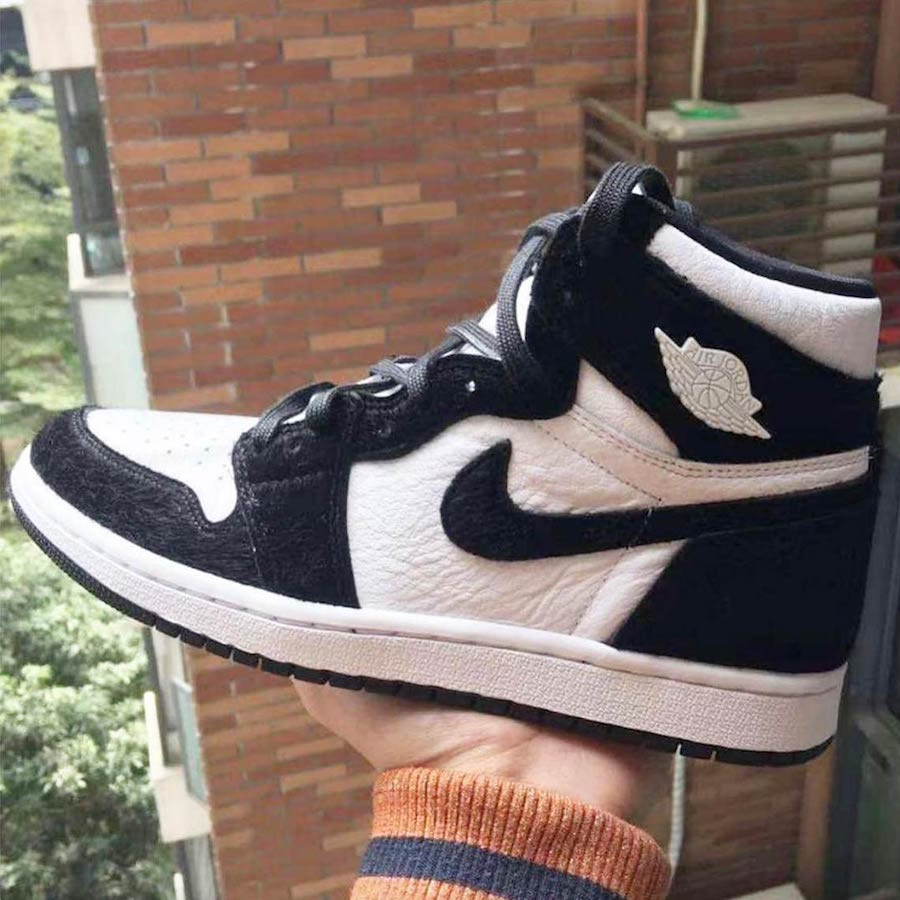 Air Jordan 1 Black White Panda 2019 Release Date