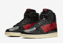 Air Jordan 1 Defiant Couture Black Gym Red BQ6682-006 Release Date Price
