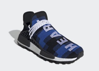 Billionaire Boys Club adidas NMD Hu Heart Mind Blue Plaid EF7387 Release Date