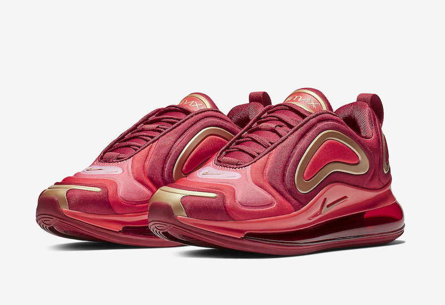 Nike will be releasing a bunch of Air Max 720 colourways