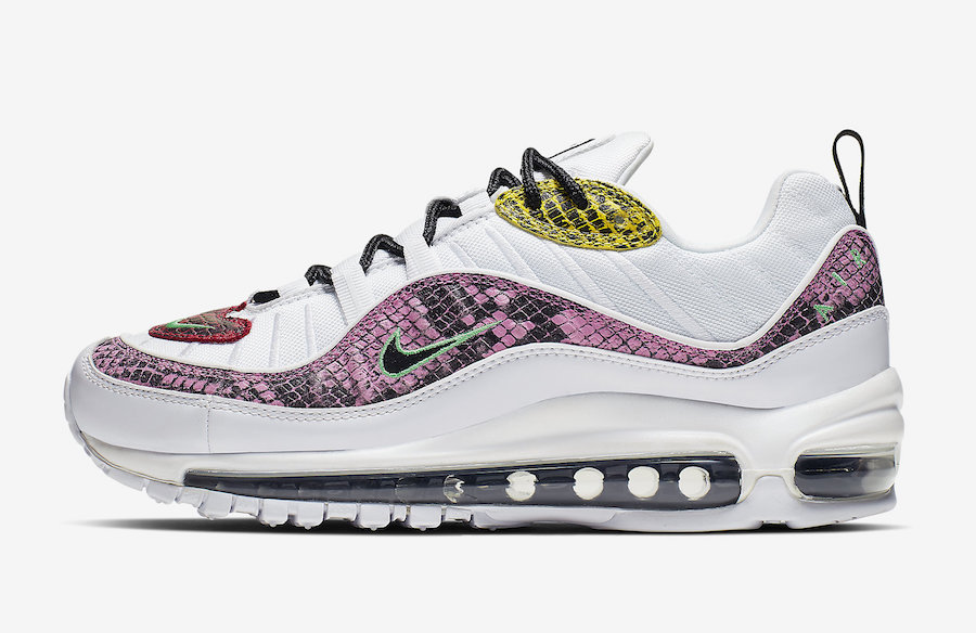 Nike Air Max 98 Snakeskin WMNS BV1978-100 Release Date