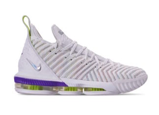 Nike LeBron 16 Buzz Lightyear White Multi-Color Hyper Grape AO2588-102 Release Date Pirce