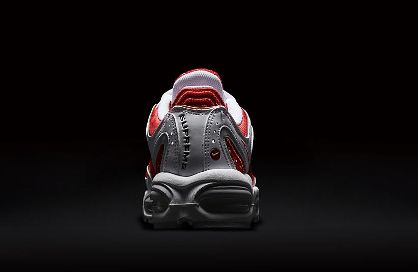 Supreme Nike Air Max Tailwind 4 IV White University Red AT3854-100 Release Date