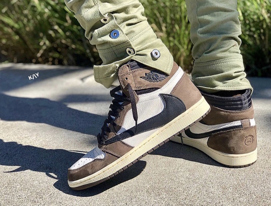 d479c3b61f5e Travis Scott Air Jordan 1 CD4487-100 Release Date - Sneaker Bar Detroit