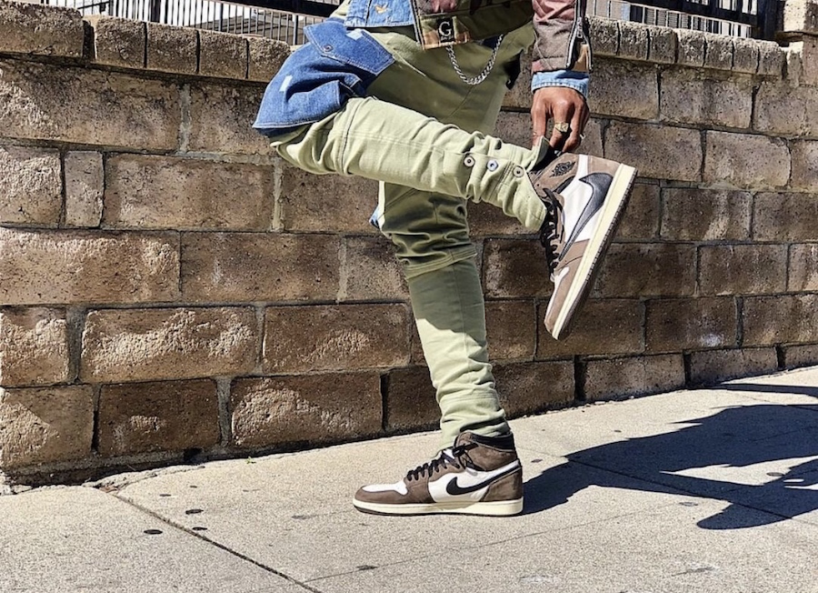 3f91a5f5634 Travis Scott Air Jordan 1 CD4487-100 Release Date - Sneaker Bar Detroit