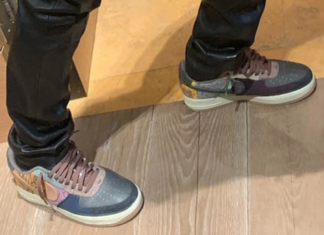 Travis Scott Previews Another Nike Air Force 1 Collaboration 52763bef7