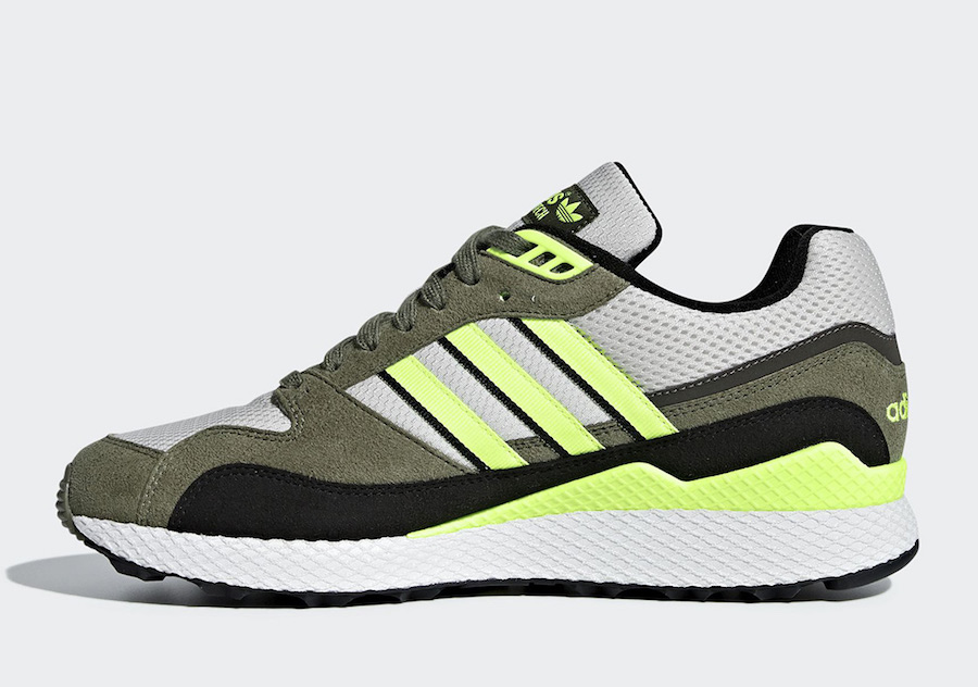 8b88ee123 adidas Ultra Tech Hi Res Yellow BD7937 Release Date-1 -