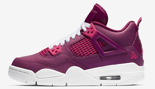 303c131e8dd4 Air Jordan 4 GS Color  True Berry Rush Pink-White Style Code  487724-661.  Release Date  February 9