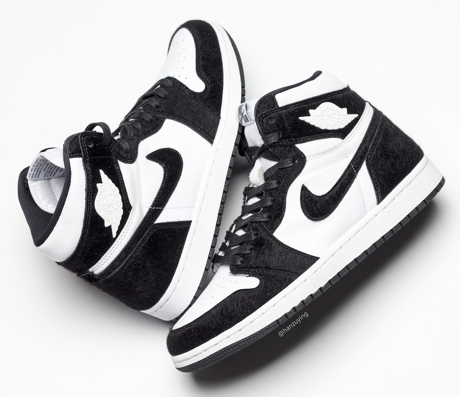 Air Jordan 1 High OG Panda Black White CD0461-007 Release Date Pricing