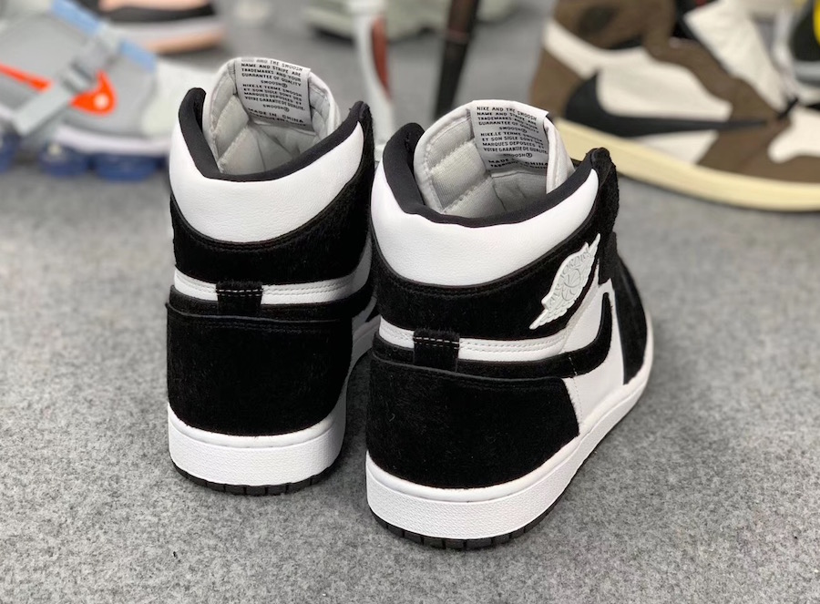 Air Jordan 1 Panda Black White CD0461-007 Release Date