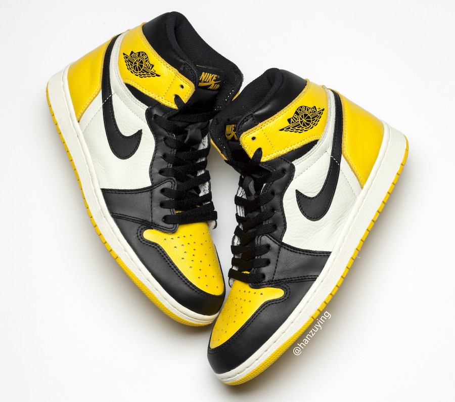 Air Jordan 1 Yellow Toe AR1020-700 Release Date