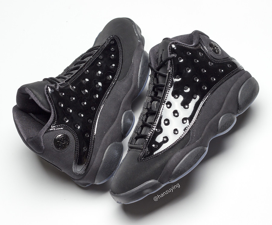 Air Jordan 13 Cap and Gown Black 414571-012 Release Date