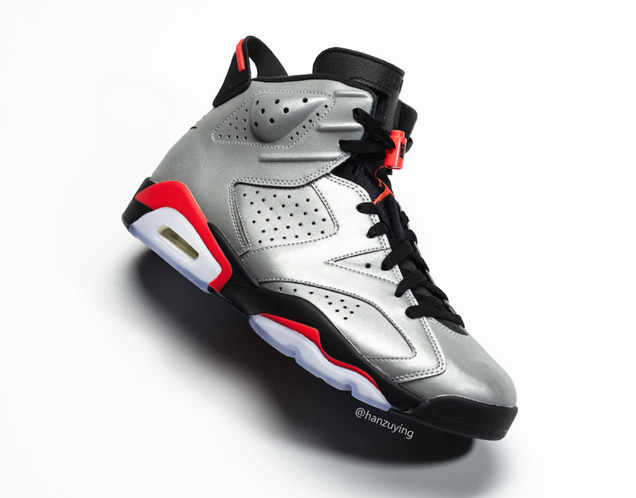 Air Jordan 6 Reflect Silver Infrared CI4072-001 Release Date Pricing