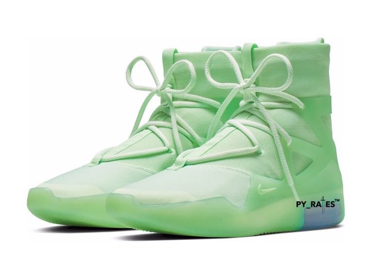 Nike Air Fear of God 1 Spruce Frosted Release Date