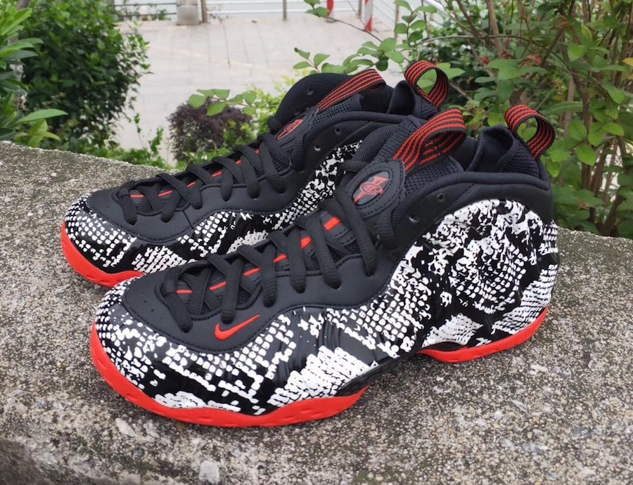 online store a000a 6c682 Nike Air Foamposite One Snakeskin 314996-101 Release Info