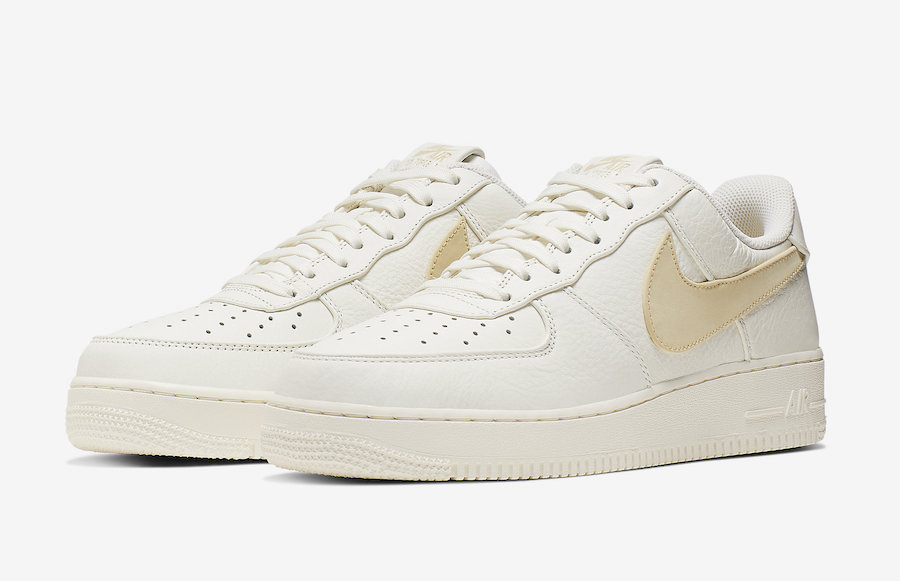 Nike Air Force 1 Low Premium Pale Vanilla AT4143-101 Release Date