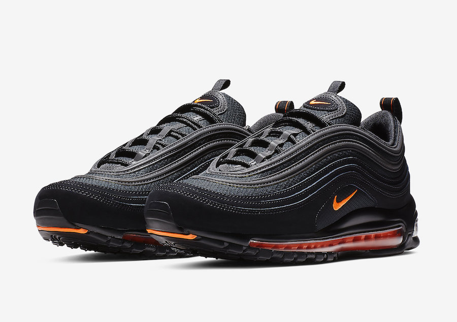 the best attitude 1eef3 7b395 Nike Air Max 97 Black Hyper Crimson CD1531-001 Release Date