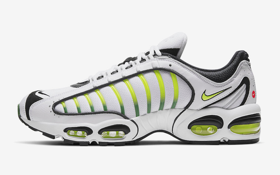 wholesale dealer 5f6bc 05250 Nike Air Max Tailwind 4 IV White Volt Black AQ2567-100 Release Date