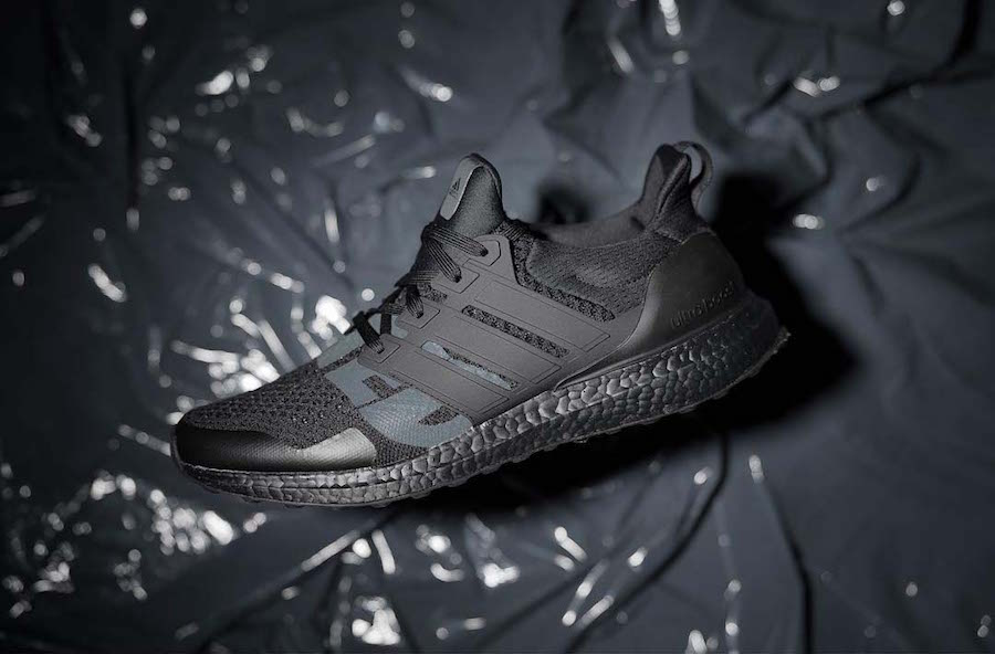 26e824116 Undefeated adidas Ultra Boost Triple Black Release Date - SBD