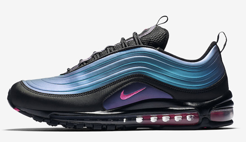 502fb91e90 Nike Air Max 97 LX Color: Black/Laser Fuchsia-Thunder Grey Style Code:  AV1165-001. Release Date: March 21, 2019. Price: $170 — Buy: eBay // Nike