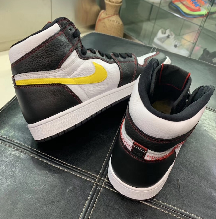 Air Jordan 1 Defiant White Black Gym Red Tour Yellow CD6579-071 Release Date