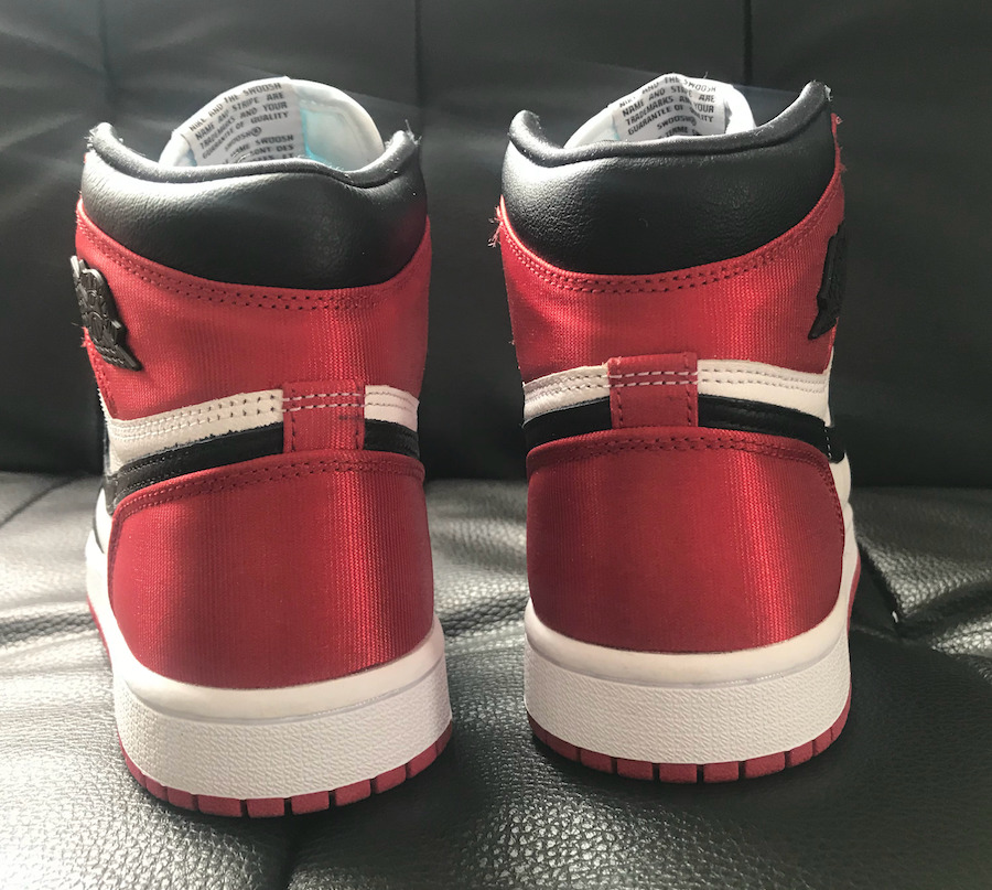 Air Jordan 1 Satin Black Toe WMNS CD0461-016 Release Date