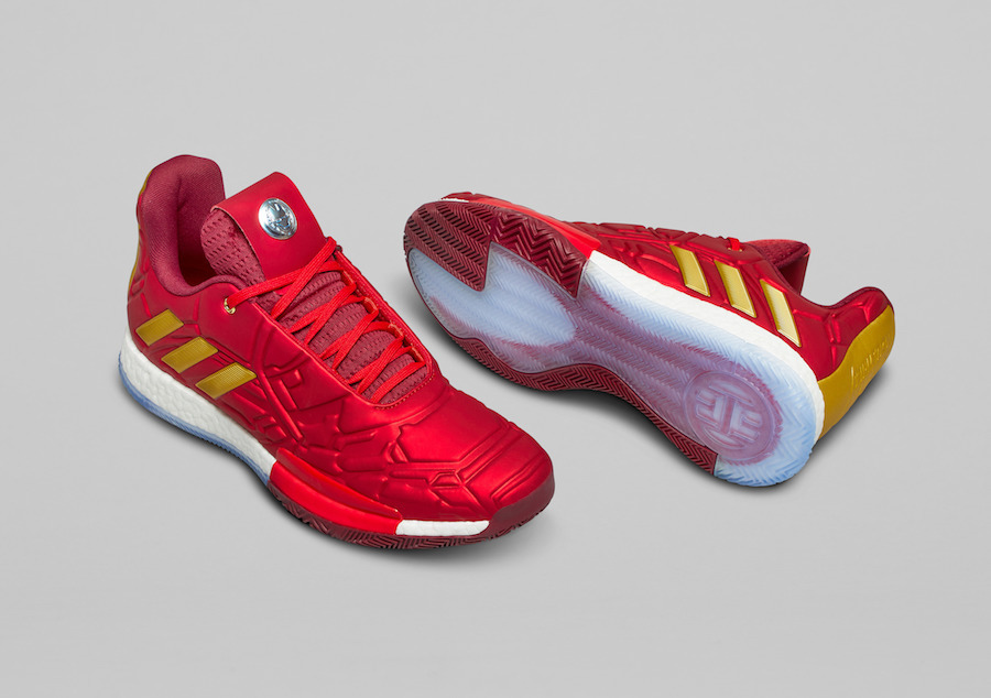 Marvel adidas Harden Vol 3 Iron Man Release Date