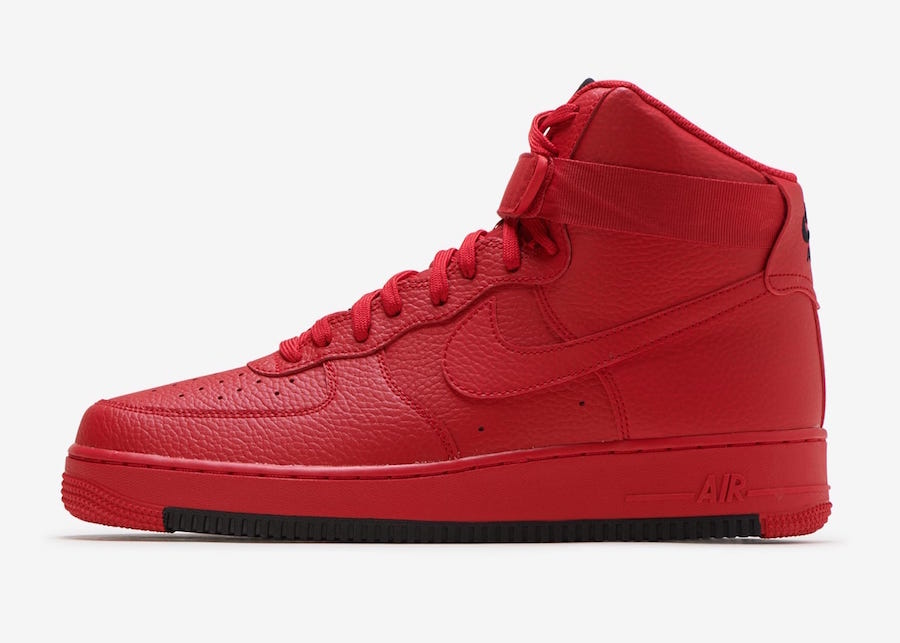 Nike Air Force 1 High University Red AO2440-600 Release Date ...
