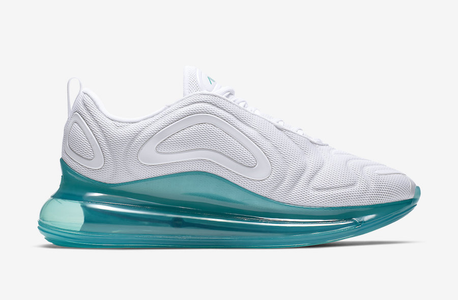 new style 1d590 e2090 Nike Air Max 720 Spirit Teal AO2924-103 Release Date