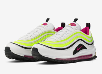 eb76e8f507d3 The Nike Air Max 97 Arrives in Volt and Rush Pink