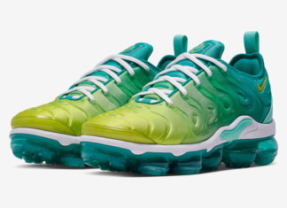 "1f4d17620fa Nike Air VaporMax Plus Available in ""Lemon Lime"""