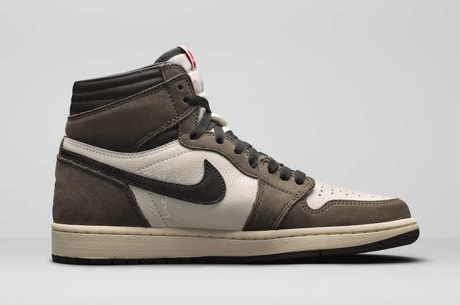 timeless design 1c60c 5b23e Travis Scott Air Jordan 1 CD4487-100 Release Date - Sneaker ...