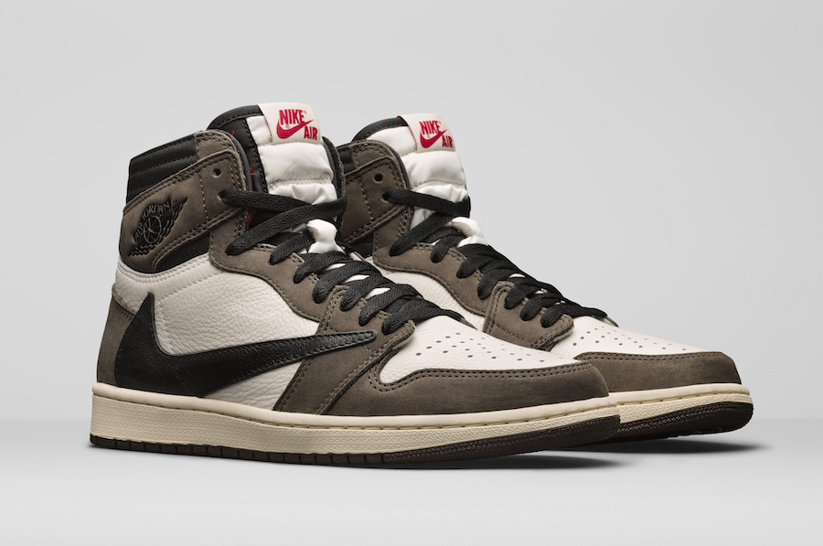 Travis Scott Air Jordan 1 CD4487-100 Release Date - Sneaker