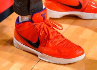 "fc62a5618fcbb Undefeated x Nike Kobe 4 Protro in ""Team Orange"""