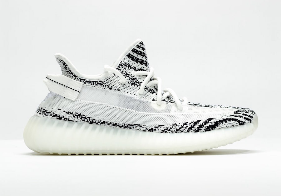 adidas Yeezy Boost 350 V2 Zebra Translucent Stripe Sample