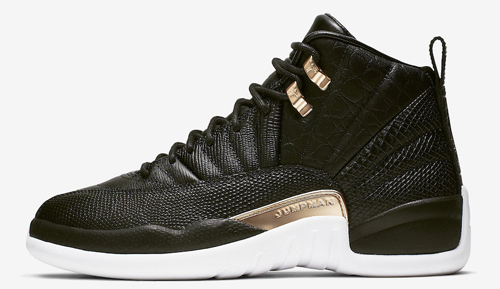 buy popular 751d7 5769a Air Jordan 12 WMNS Color  Black Metallic Gold-White Style Code  AO6068-007.  Release Date  May 17, 2019. Price   190 — Buy  eBay    Nike