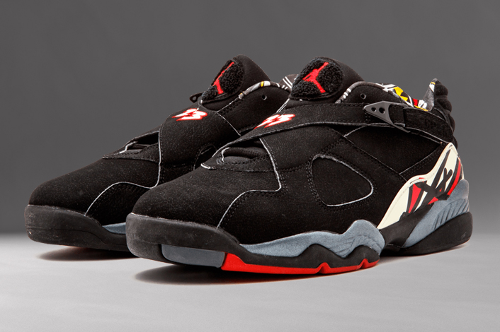 "lowest price 0c3b7 ba5af The Air Jordan 8 Low ""Playoffs"" made its official ..."