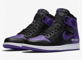 "half off 9eea5 15967 Air Jordan 1 High OG ""Court Purple"" Releasing Spring 2020"