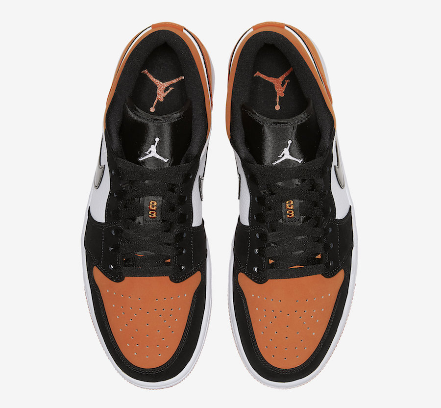 Air Jordan 1 Low Shattered Backboard 553558-128 2019 Release Date
