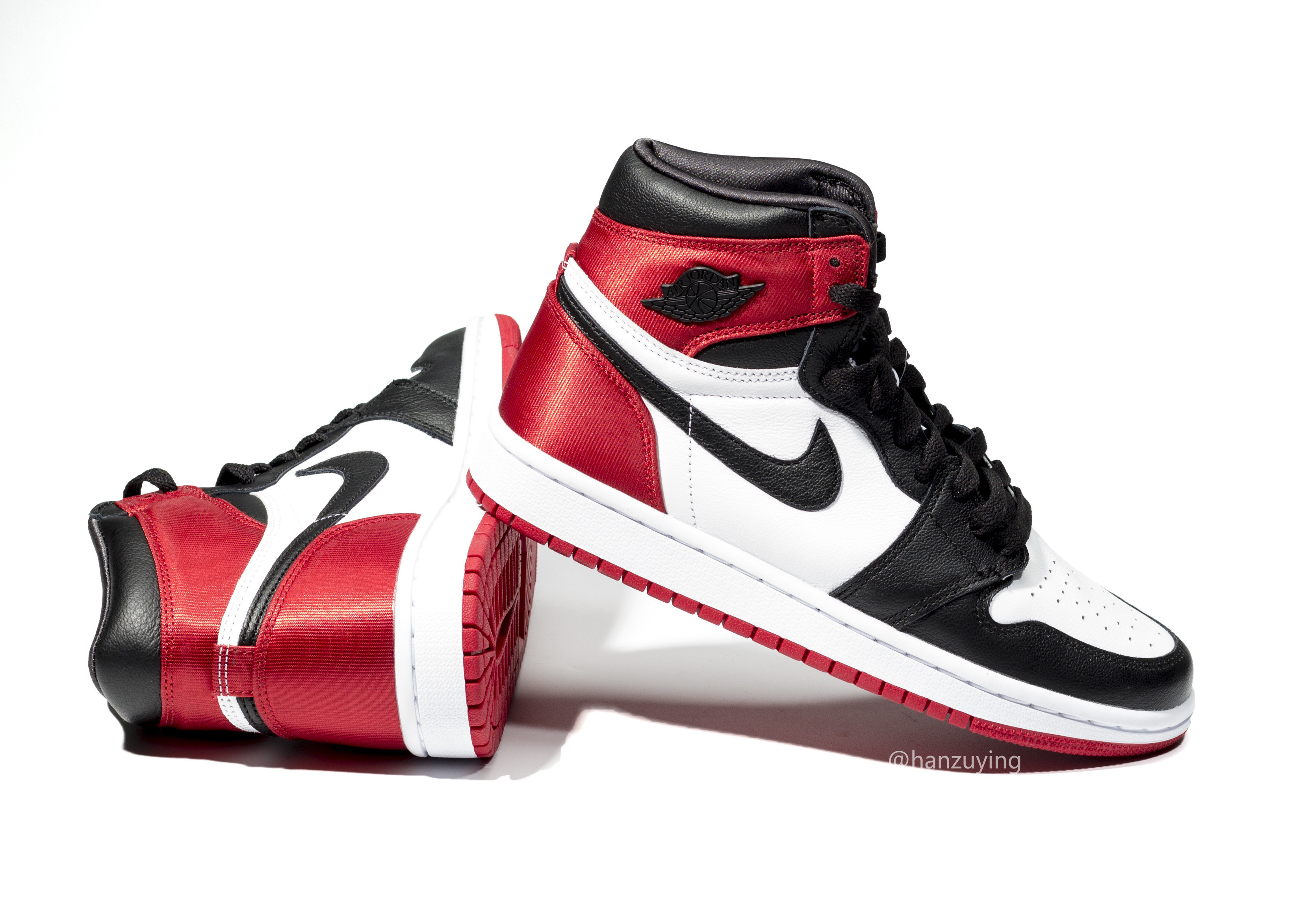 e241d571fd5 Air Jordan 1 Satin Black Toe Women's CD0461-016 Release Date - SBD