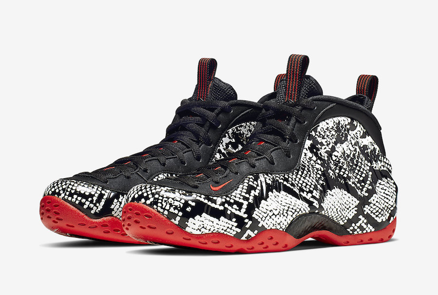 premium selection 92cef 0f6ba Nike Air Foamposite One Snake 314996-101 Release Date Price