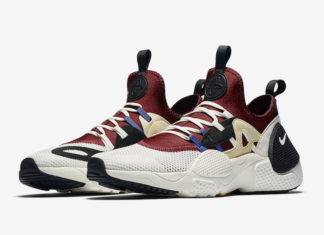 Nike Air Huarache EDGE TXT Team Red Pale Vanilla AO1697-602 Release Date