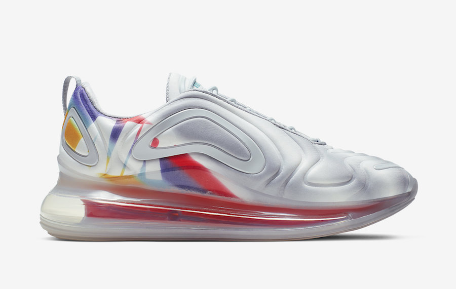 """Nike Air Max 720 """"Pride"""" Releasing Next Month: Official Photos"""