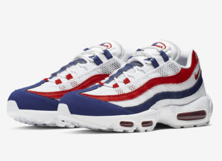 sports shoes 48c11 7b16b This Nike Air Max 95 Is Ready For The 4th of July