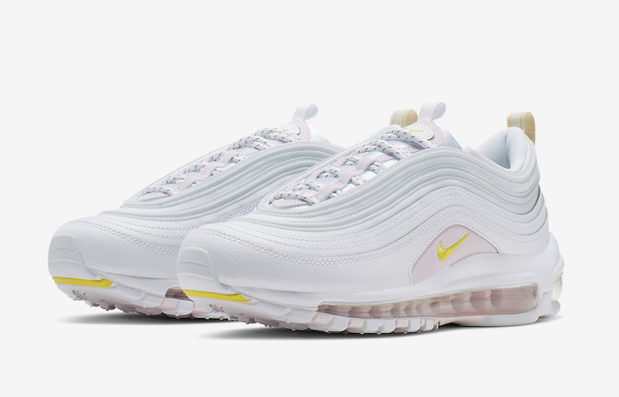 cabb01efd Nike Air Max 97 White Yellow Pink CI9089-100 Release Date - SBD
