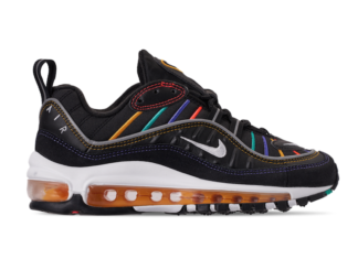 "huge selection of a0d94 b7b7a Nike Air Max 98 ""Black Multi"" Coming Soon"