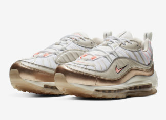 new concept 1b1aa f9c6d Nike Adds Rose Gold To The Air Max 98