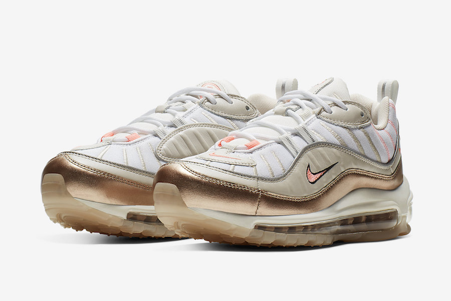 plus récent 45577 c9bb4 Nike Air Max 98 Rose Gold CI9907-100 Release Date - SBD